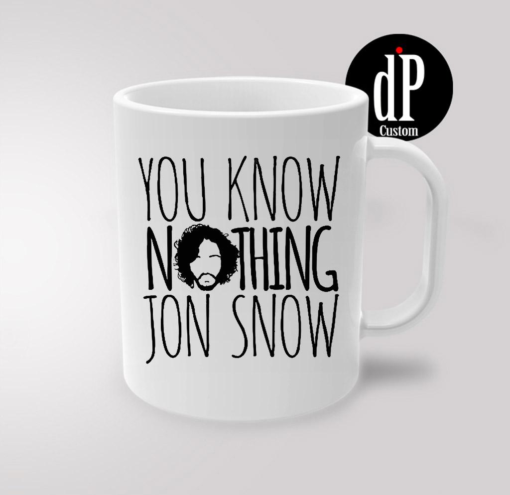 Jon Snow game of Thrones Coffee Quotes Mug 11oz