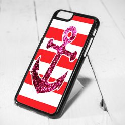 Anchor Sparkle Protective iPhone 6 Case, iPhone 5s Case, iPhone 5c Case, Samsung S6 Case, and Samsung S5 Case