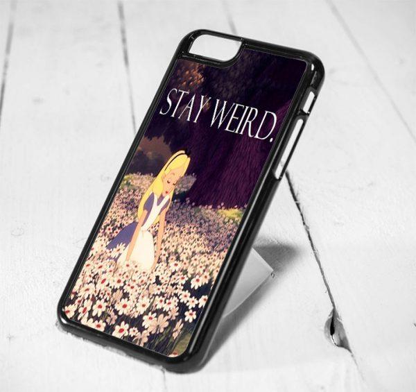 Alice In Wonderland Weird Protective iPhone 6 Case, iPhone 5s Case, iPhone 5c Case, Samsung S6 Case, and Samsung S5 Case