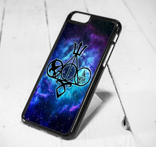 All Logo Geek Book Harry Potter, Hunger Game, and Runes Protective iPhone 6 Case