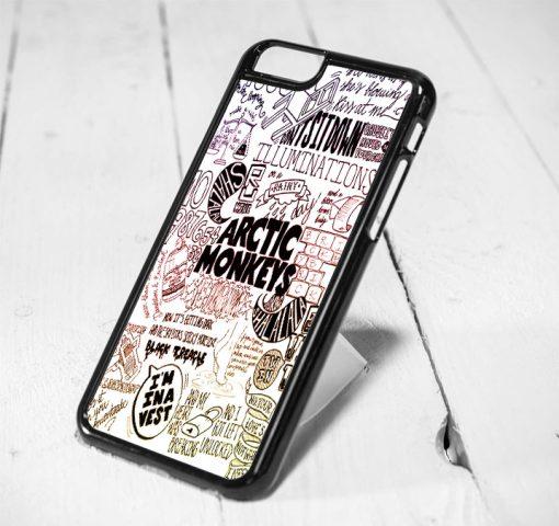 Arctic Monkey Lyrics Protective iPhone 6 Case, iPhone 5s Case, iPhone 5c Case, Samsung S6 Case, and Samsung S5 Case