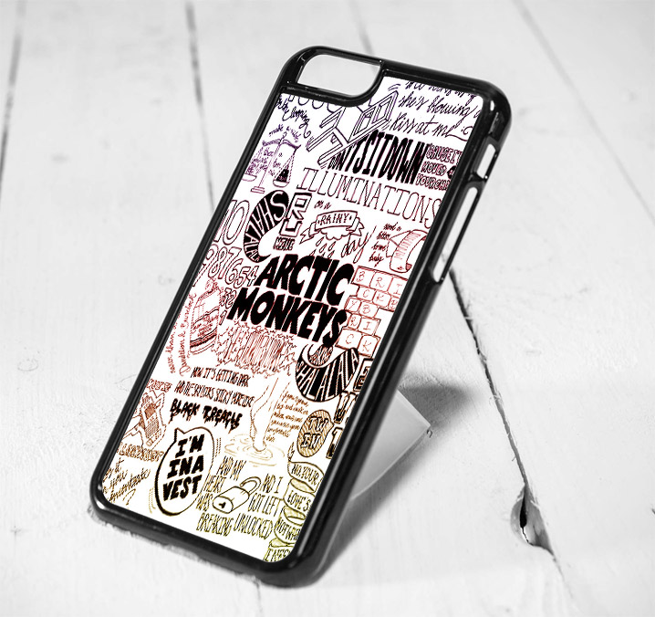 Arctic Monkey Lyrics Protective iPhone 6 Case, iPhone 5s Case, iPhone 5c Case, Samsung S6 Case, and Samsung S5 Case