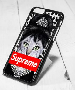 Audrey Hepburn Supreme Cat iPhone 6 Case, iPhone 5s Case