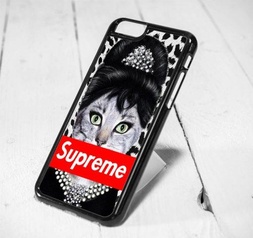 Audrey Hepburn Supreme Cat iPhone 6 Case, iPhone 5s Case