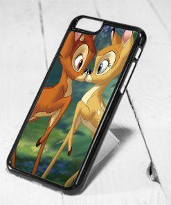 Disney Bambi Love Protective iPhone 6 Case, iPhone 5s Case, iPhone 5c Case, Samsung S6 Case, and Samsung S5 Case