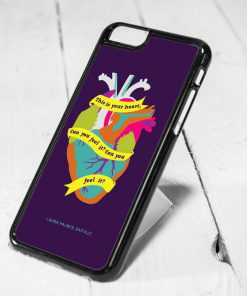 Bastille Heart Quote Protective iPhone 6 Case, iPhone 5s Case, iPhone 5c Case, Samsung S6 Case, and Samsung S5 Case