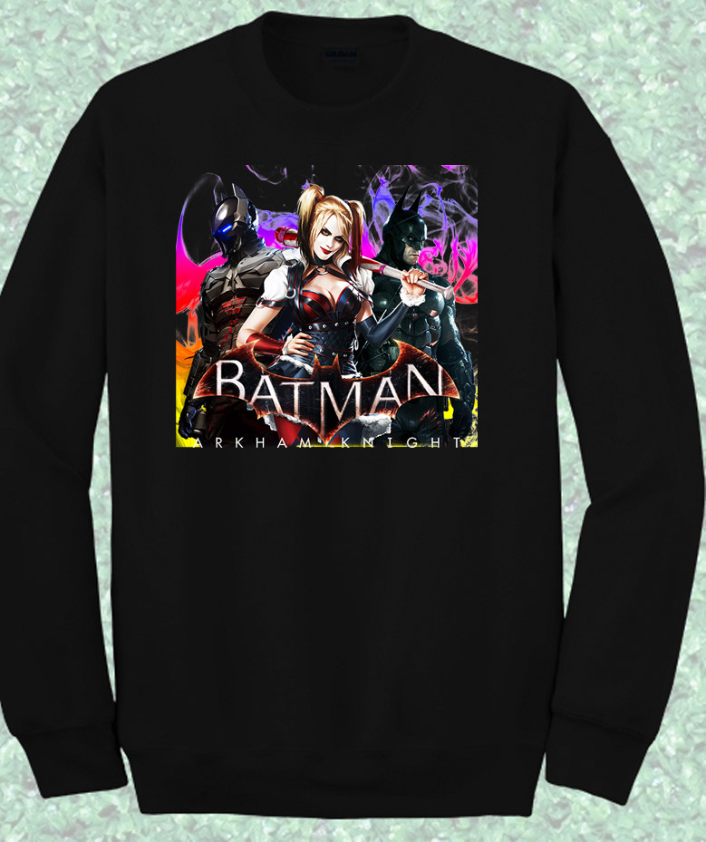Batman Arkham Knight Crewneck Sweatshirt