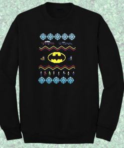 Batman Car Sweater Crewneck Sweatshirt