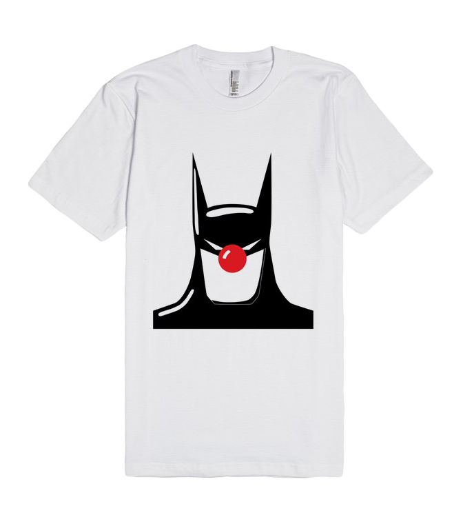 Batman Clown Nose Unisex Premium T shirt