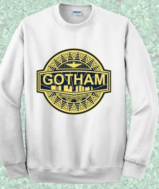 Batman Gotham City Crewneck Sweatshirt