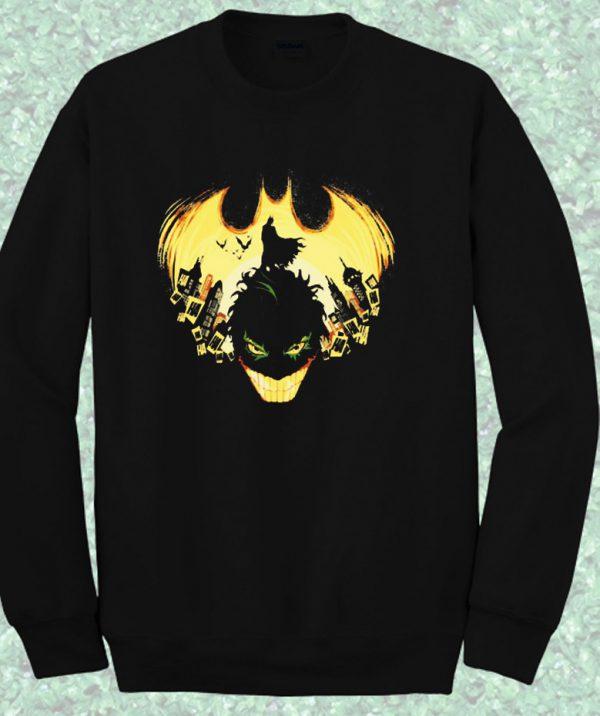 Batman Gotham Nightmare Crewneck Sweatshirt