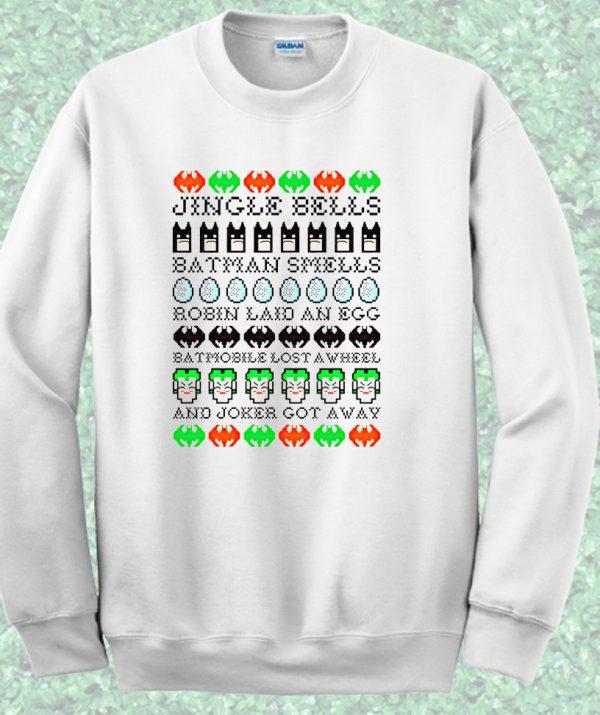 Batman Jingle Bells Crewneck Sweatshirt