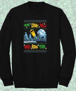 Batman Pop Art Quite Crewneck Sweatshirt