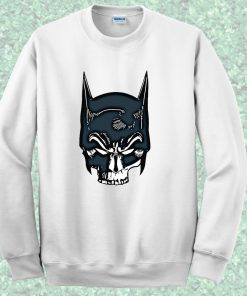 Batman Skull Face Crewneck Sweatshirt