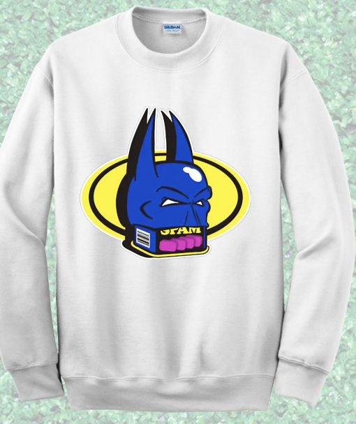 Batman Spam Face Crewneck Sweatshirt