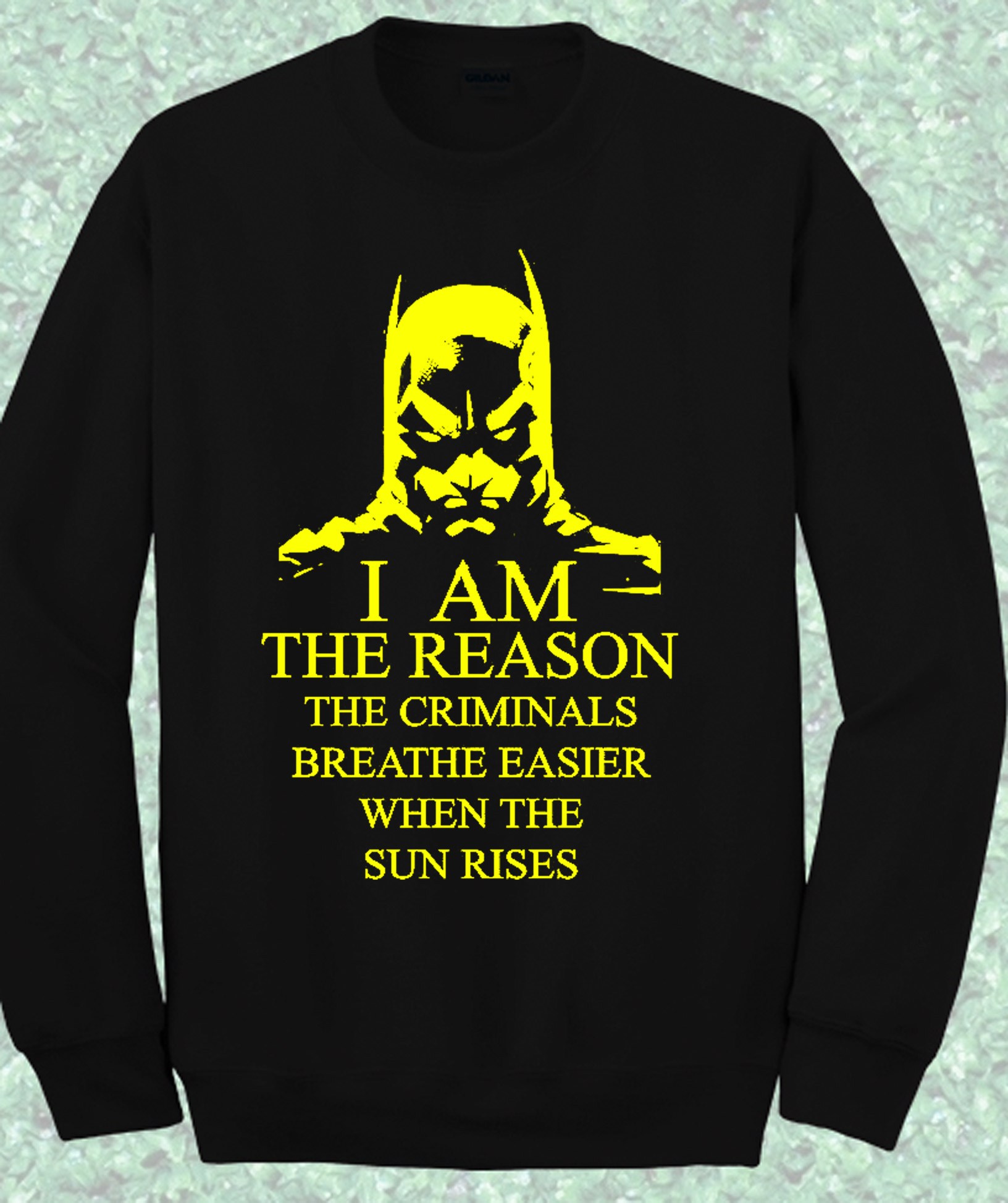 Batman The Reason Criminal Crewneck Sweatshirt