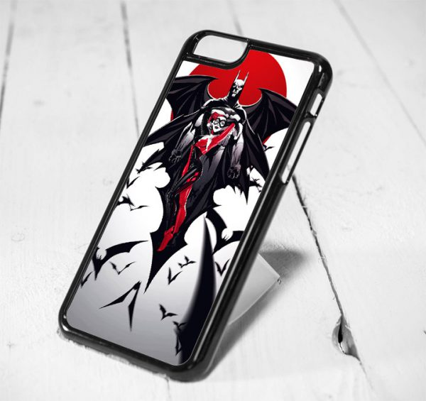 Batman and Harley Quenn Protective iPhone 6 Case, iPhone 5s Case, iPhone 5c Case, Samsung S6 Case, and Samsung S5 Case