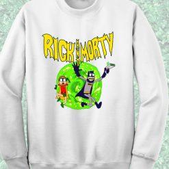 Rick Morty Batman Style Crewneck Sweatshirt