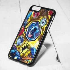 Batman Comic Collage Protective iPhone 6 Case, iPhone 5s Case, iPhone 5c Case, Samsung S6 Case, and Samsung S5 Case