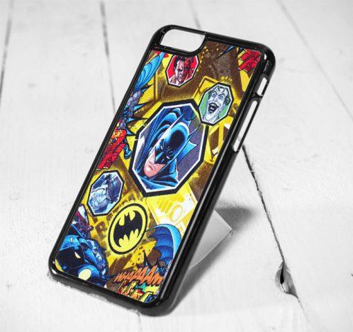 Batman Comic Collage Protective iPhone 6 Case, iPhone 5s Case, iPhone 5c Case, Samsung S6 Case, and Samsung S5 Case