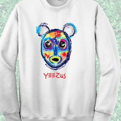 Bear Yeezus Hiphop Style Crewneck Sweatshirt