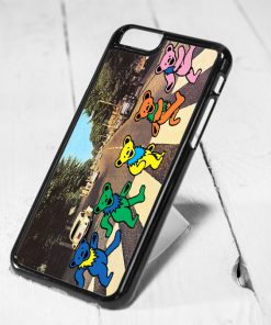 Bear Dance Abbey Road Protective iPhone 6 Case, iPhone 5s Case, iPhone 5c Case, Samsung S6 Case, and Samsung S5 Case