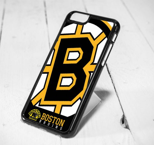 Boston Bruins Symbol Protective iPhone 6 Case, iPhone 5s Case, iPhone 5c Case, Samsung S6 Case, and Samsung S5 Case