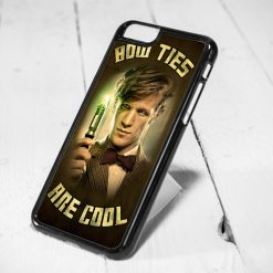Bow Ties Are Cool Doctor Who Quote Protective iPhone 6 Case, iPhone 5s Case, iPhone 5c Case, Samsung S6 Case, and Samsung S5 Case