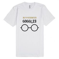 Butterbeer Goggles Harry Potter Glass Unisex Premium T shirt Size S,M,L,XL,2XL