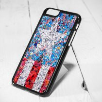 Captain America Poster Collage Protective iPhone 6 Case, iPhone 5s Case, iPhone 5c Case, Samsung S6 Case, and Samsung S5 Case