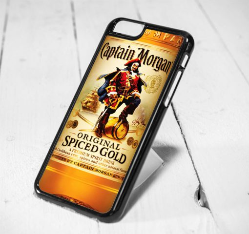 Captain Morgan Protective iPhone 6 Case, iPhone 5s Case, iPhone 5c Case, Samsung S6 Case, and Samsung S5 Case