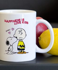 Charlie Brown Snoopy Happines Love Funny Tea Coffee Ceramic Mug 11oz