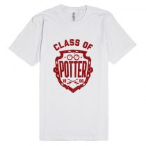 Class of Harry Potter Unisex Premium T shirt Size S,M,L,XL,2XL