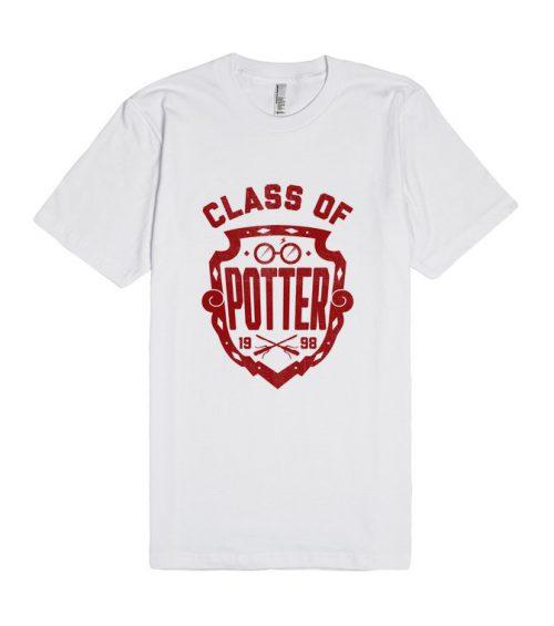 Class of Harry Potter Unisex Premium T shirt Size S,M,L,XL,2XL