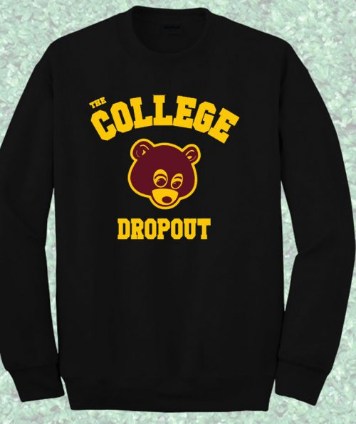 College Bear Dropout Jay Z Crewneck Sweatshirt
