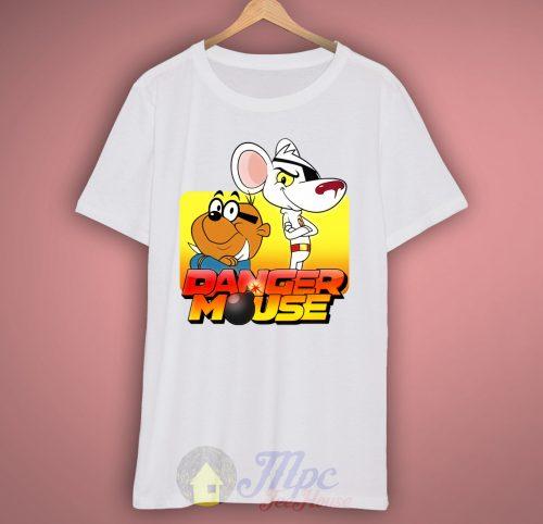 Danger Mouse Penfold Unisex Premium T shirt Size S,M,L,XL,2XL