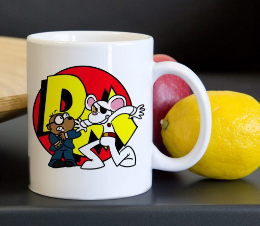 Danger Mouse and Penfold Classic Ceramic Mug 11oz