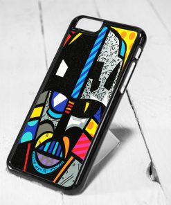 Darth Vader Starwars Romero Britto Style iPhone 6 Case, iPhone 5s Case, iPhone 5c Case, Samsung S6 Case
