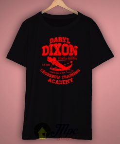 Daryl Dixon Walking Dead Crossbow Training Unisex Premium T shirt Size S,M,L,XL,2XL