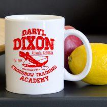 Daryl Dixon Crossbow Training Tea Coffee Classic Ceramic Mug 11oz
