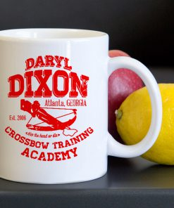 Daryl Dixon Crossbow Training Tea Coffee Classic Ceramic Mug 11oz