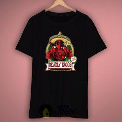 Deadpool Tacos Unisex Premium T shirt Size S,M,L,XL,2XL