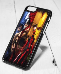Deadpool Collage iPhone 6 Case, iPhone 5s Case, iPhone 5c Case, Samsung S6 Case, and Samsung S5 Case