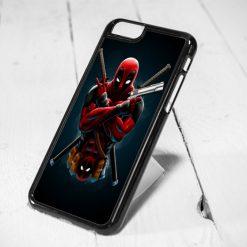 Deadpool Ninja Style iPhone 6 Case, iPhone 5s Case, iPhone 5c Case, Samsung S6 Case, and Samsung S5 Case