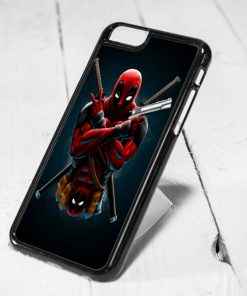 Deadpool Ninja Style iPhone 6 Case, iPhone 5s Case, iPhone 5c Case, Samsung S6 Case, and Samsung S5 Case