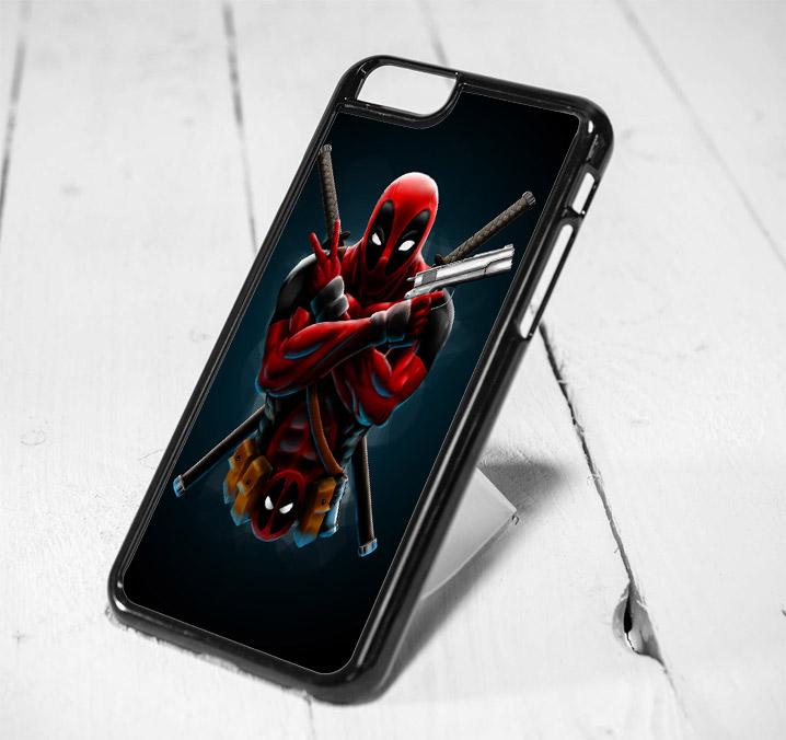 online store a2928 0da99 Deadpool Ninja Style iPhone 6 Case, iPhone 5s Case, iPhone 5c Case, Samsung  S6 Case, and Samsung S5 Case