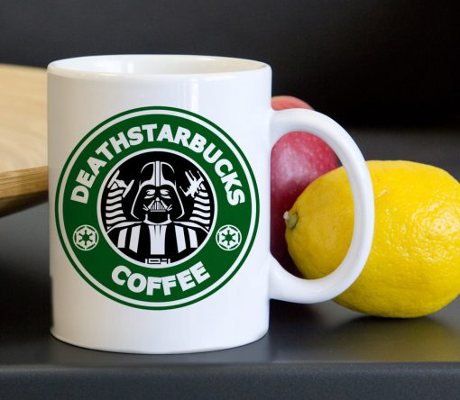 Starbucks Funny Death Starwars Tea Coffee Classic Ceramic Mug 11oz
