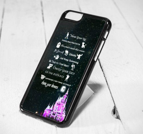 Disney Lesson Castle Protective iPhone 6 Case, iPhone 5s Case, iPhone 5c Case, Samsung S6 Case, and Samsung S5 Case