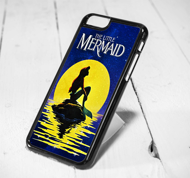 Disney Little Mermaid Moon Protective iPhone 6 Case, iPhone 5s Case, iPhone 5c Case, Samsung S6 Case, and Samsung S5 Case