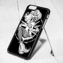 Disney Little Mermaid Skelleton Protective iPhone 6 Case, iPhone 5s Case, iPhone 5c Case, Samsung S6 Case, and Samsung S5 Case